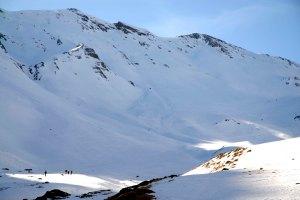 Cara norte dos Pirineos também conhecida como França.
